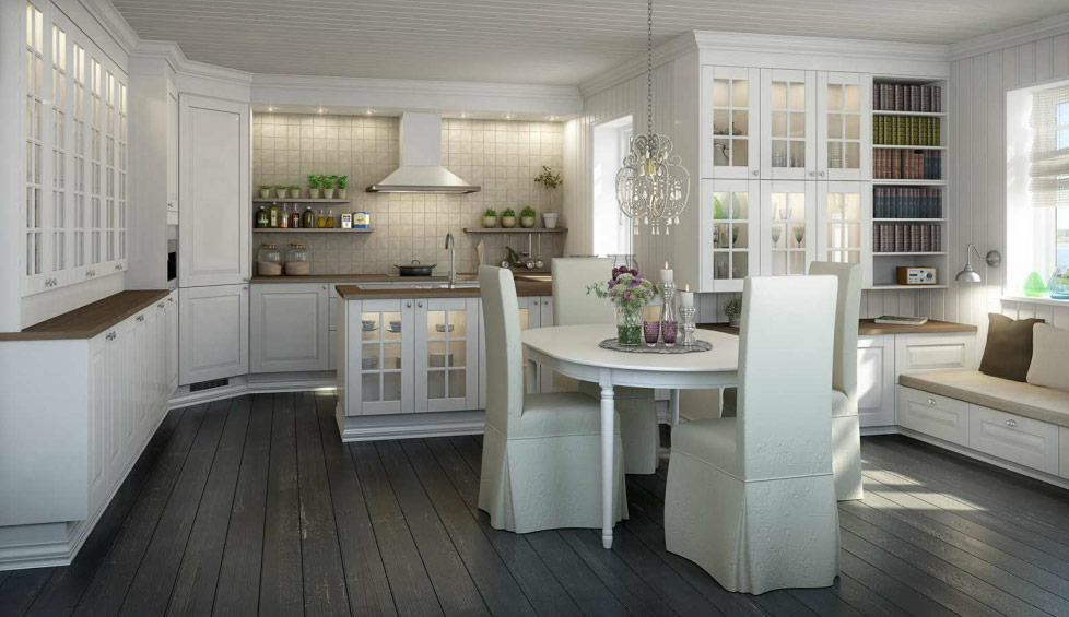 Piękne kuchnie w skandynawskim stylu  North&South Home Blog -> Kuchnia Skandynawska Inspiracje