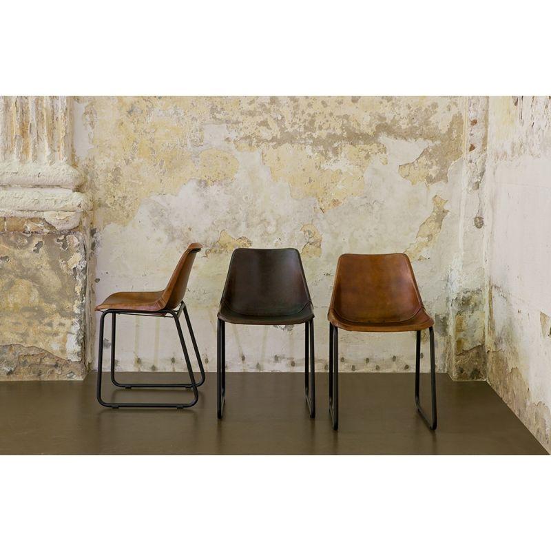 krzeslo-rustykalne-skorzane-ciemnobrazowe-