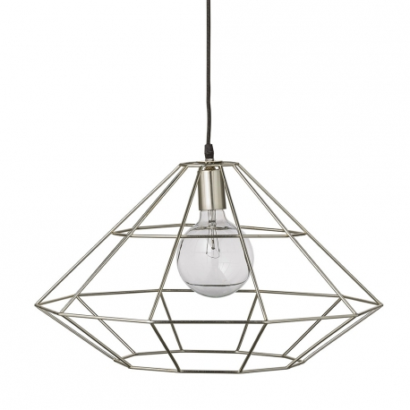 Lampa wisząca PENDANT, srebrna - Bloomingville