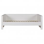 Łóżko ROBIN zabudowane, białe