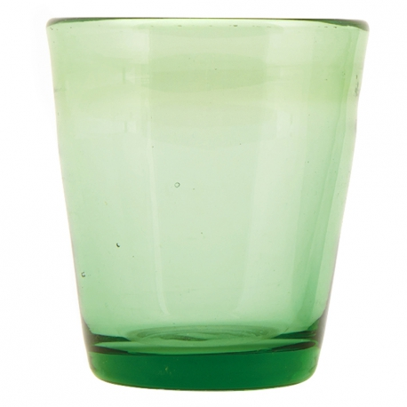 Szklanka na wodę, zielona