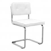Krzesło RUBY, białe - Woood