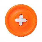 Guzik-wieszak pomarańczowy S