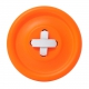 Guzik-wieszak pomarańczowy M