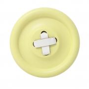 Guzik-wieszak żółty S