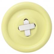 Guzik-wieszak żółty L