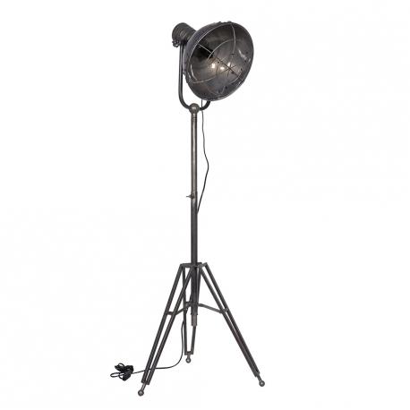 Lampa industrialna SPOTLIGHT w kolorze srebrno-złotym - Be Pure