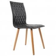 Krzesło ANDY, ciemnoszare - White Label Living