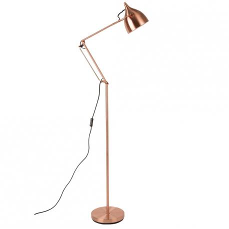 Lampa podłogowa READER miedziana - Zuiver