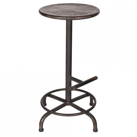 Hoker, stołek STEP  - Woood