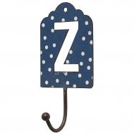 Wieszak metalowy, litera Z