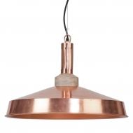 Lampa wisząca DETROIT, kolor miedziany
