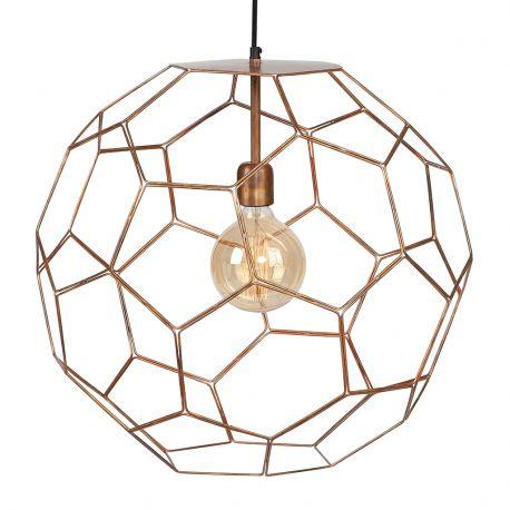 Lampa wisząca MARRAKESH, miedziana, 55 cm