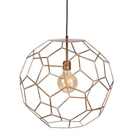 Lampa wisząca MARRAKESH, miedziana, 35 cm