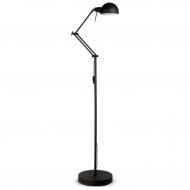 Lampa podłogowa GLASGOW, czarna