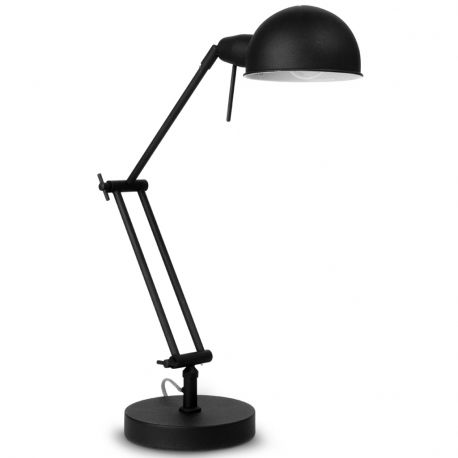 Lampa stołowa GLASGOW, czarna