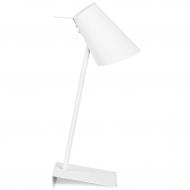Lampa stołowa CARDIFF, biała