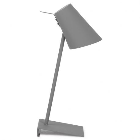 Lampa stołowa CARDIFF, szara