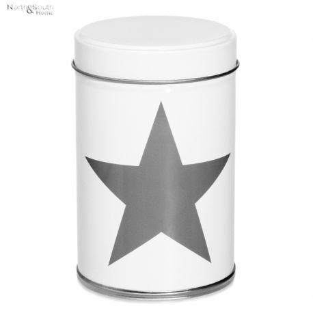 Pojemnik kuchenny STAR II, biały, średni