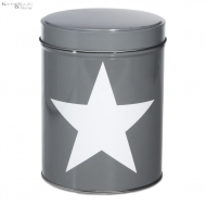 Pojemnik kuchenny STAR, szary, duży