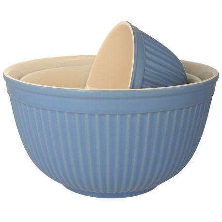 Miska ceramiczna MYNTE 18 cm, niebieska - Ib Laursen