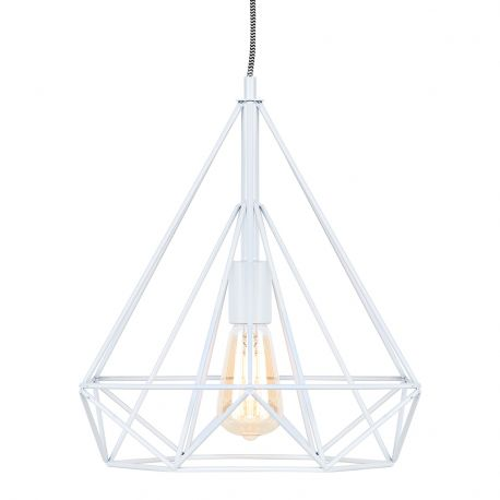 Lampa wisząca ANTWERP, biała