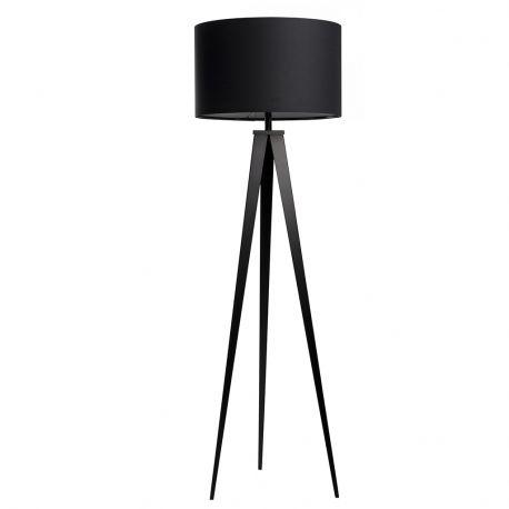 Lampa podłogowa TRIPOD czarna - Zuiver