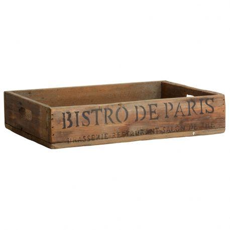 Taca drewniana BISTRO DE PARIS - Ib Laursen