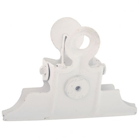 Klips biały z magnesem - Ib Laursen