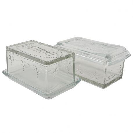 Pojemnik szklany na masło