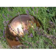 Kula ze stali nierdzewnej, kolor miedziany, 9 cm