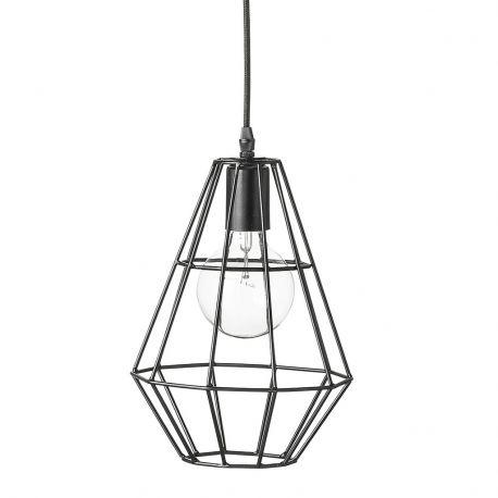 Lampa wisząca PENDANT czarna 20 cm - Bloomingville