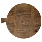 Deska do krojenia z drewna tekowego, rozmiar L