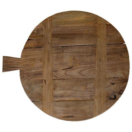 Deska do krojenia z drewna tekowego, rozmiar L - HK living