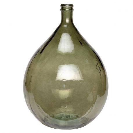 Wazon ze szkła z recyklingu
