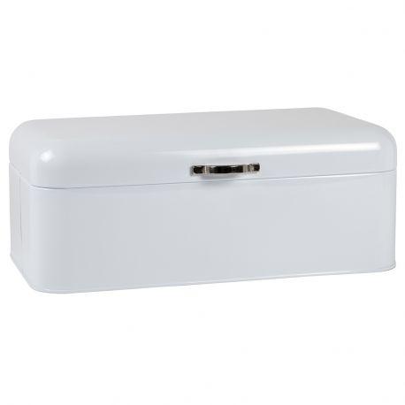 Chlebak metalowy, kolor biały