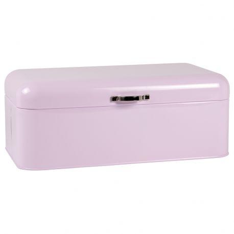 Chlebak metalowy, kolor różowy