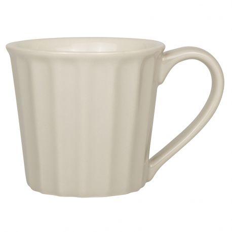 Kubek ceramiczny z uchem, latte - Ib Laursen