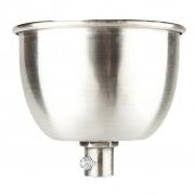 Podsufitka do lampy, srebrna