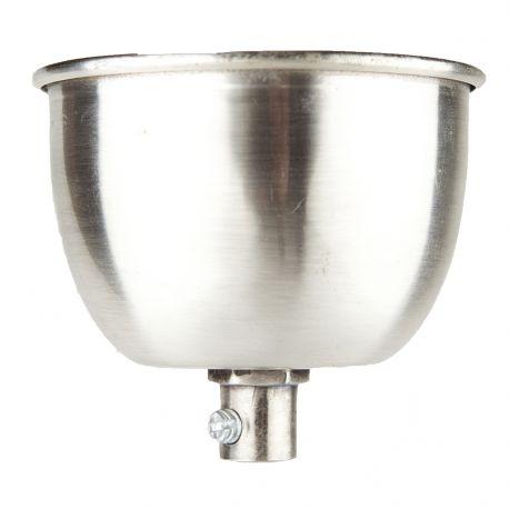 Podsufitka do lampy, srebrna - Hübsch