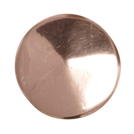 Gałka metalowa w kolorze miedzianym