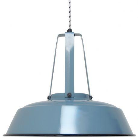 Lampa WORKSHOP L, niebieska