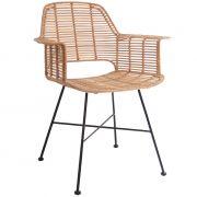 Krzesło rattanowe TUB, naturalne - HK living