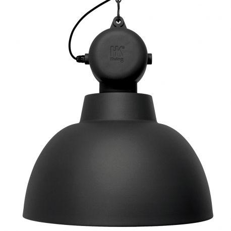 Lampa FACTORY L, czarna matowa - HK living