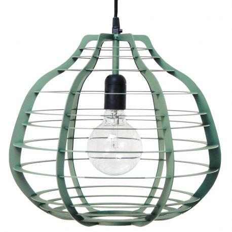 Lampa LAB XL, zielona matowa