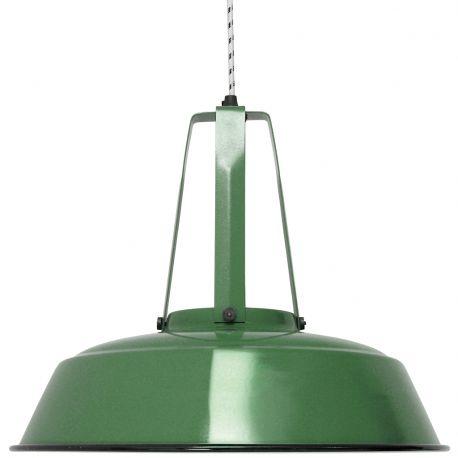 Lampa WORKSHOP L, zielona