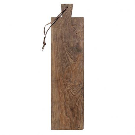 Deska do krojenia z drewna tekowego, duża - HK living