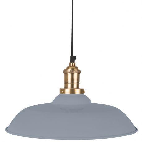 Lampa wisząca CORE, szara - Dutchbone