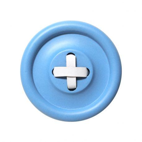 Guzik-wieszak niebieski M