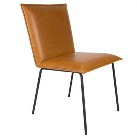 Krzesło FLOKE, brązowe